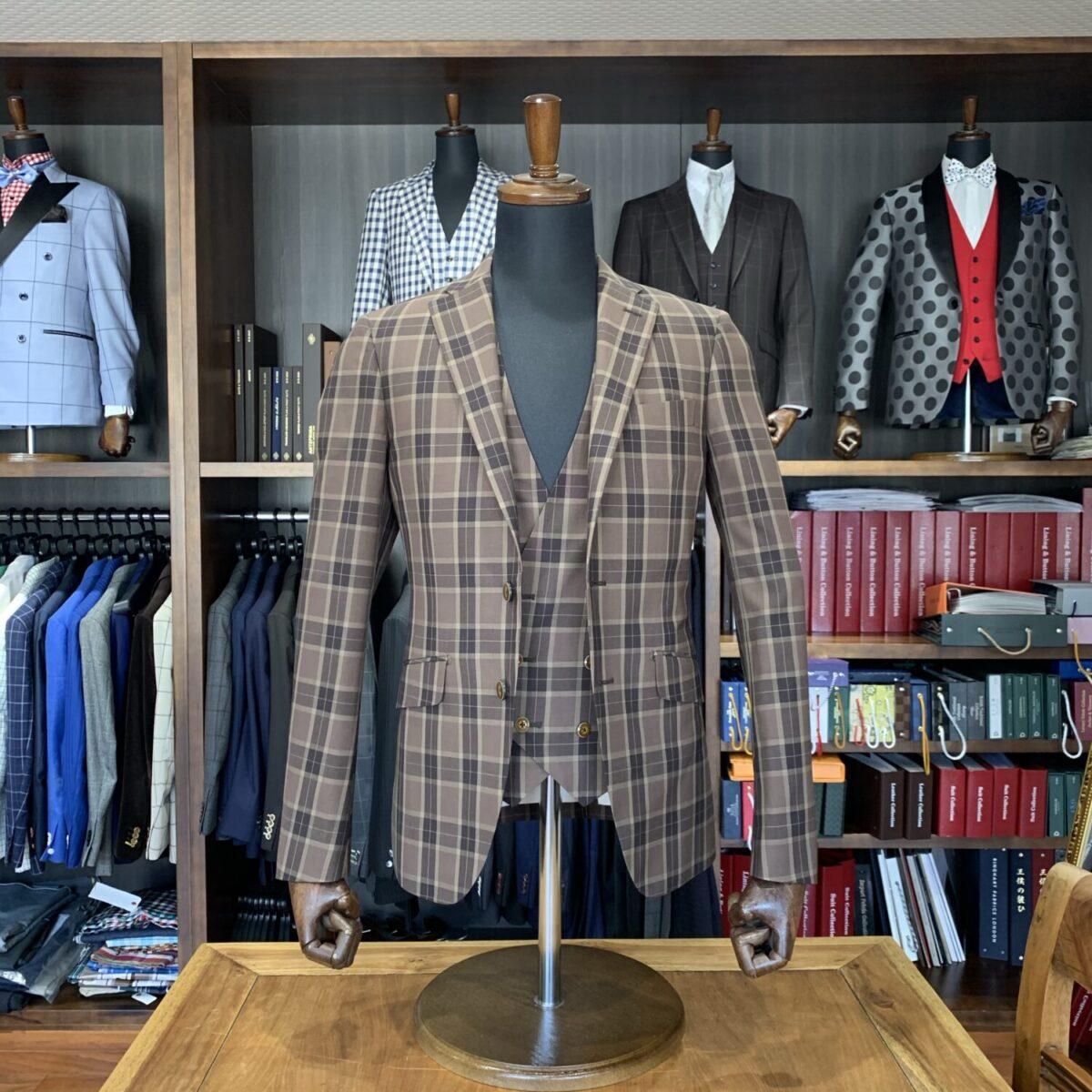 滋賀県大津市G様のオーダースーツを仕上げさせていただきました!