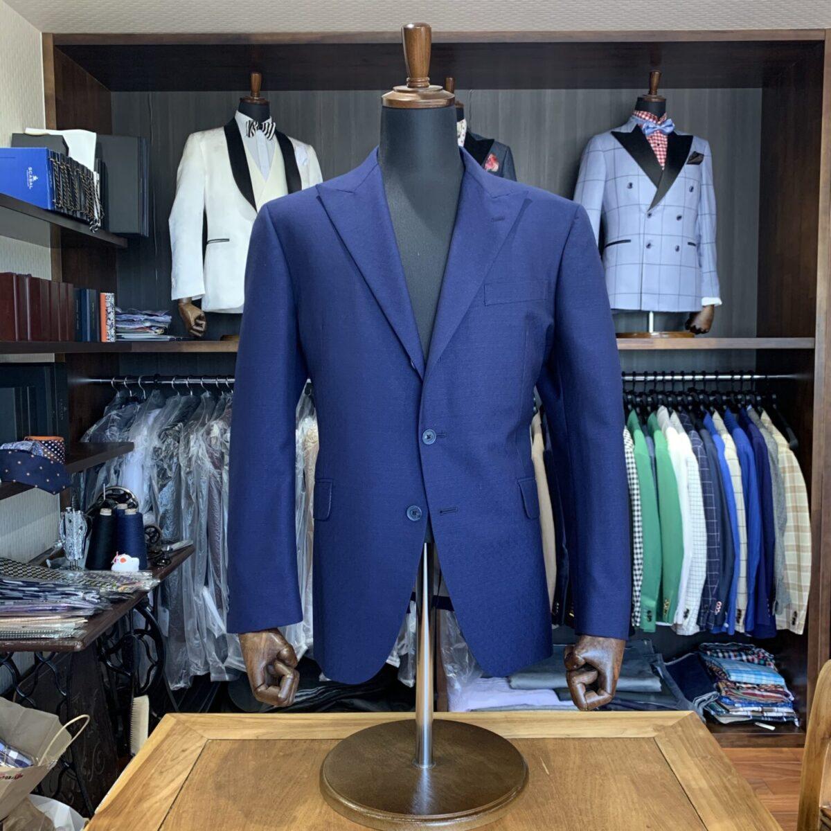 滋賀県湖南市S様のオーダースーツを仕上げさせていただきました!