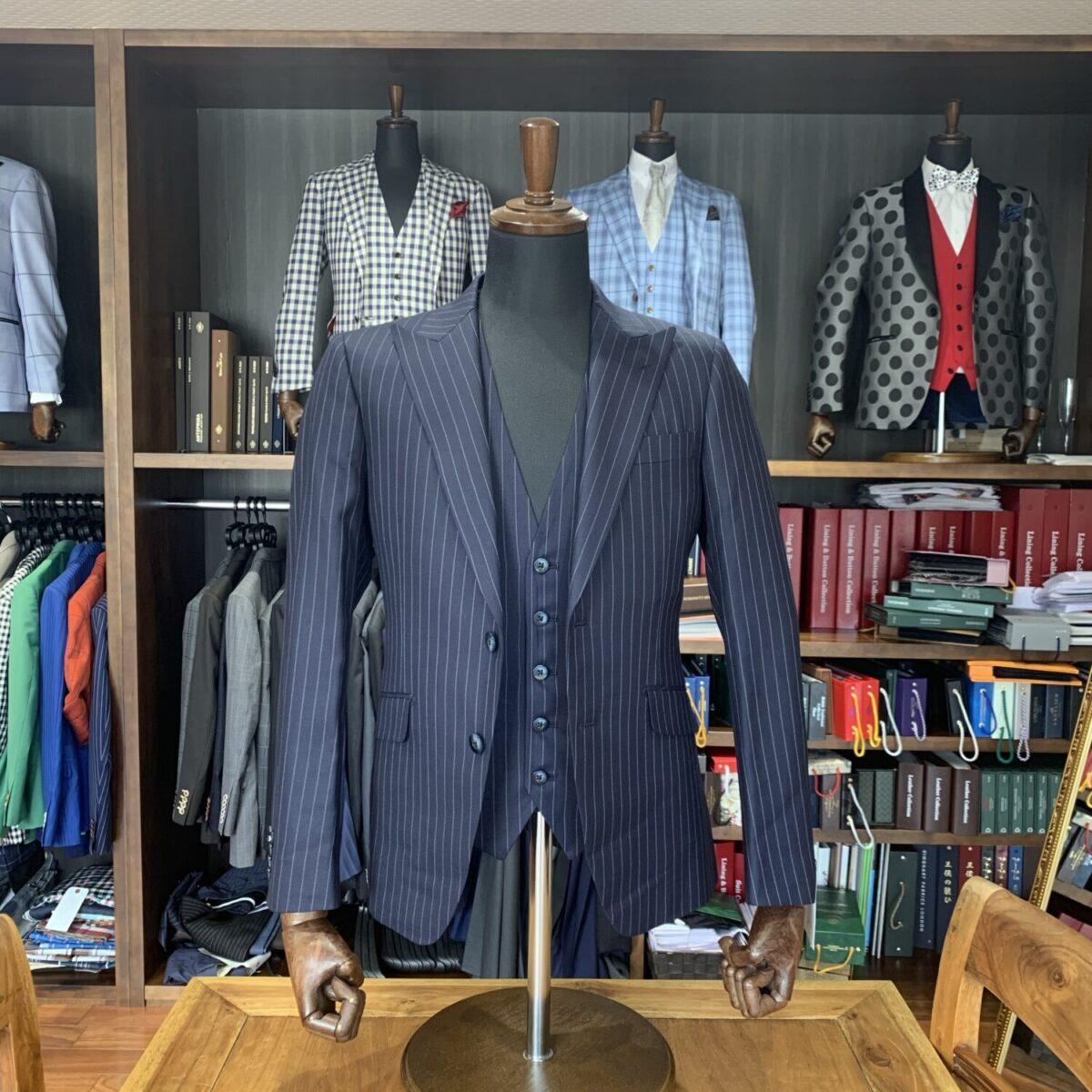 滋賀県長浜市E様のオーダースーツを仕上げさせていただきました!